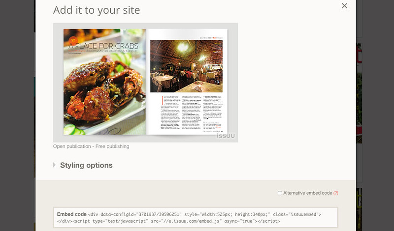 Embeddable content