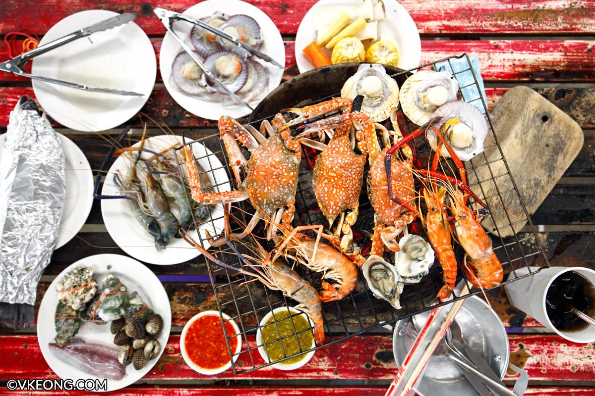 Mangkorn Seafood BBQ Buffet Bangkok