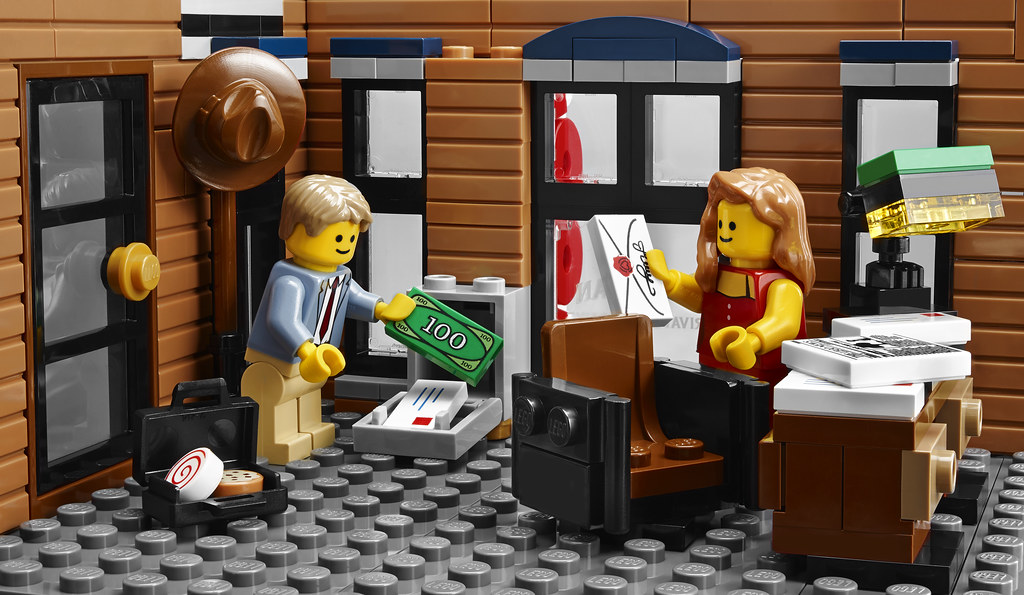 Lego creator expert detective s office more informu flickr