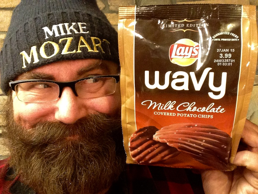 Lays Wavy Chocolate Covered Potato Chips | Lays Wavy Chocola… | Flickr