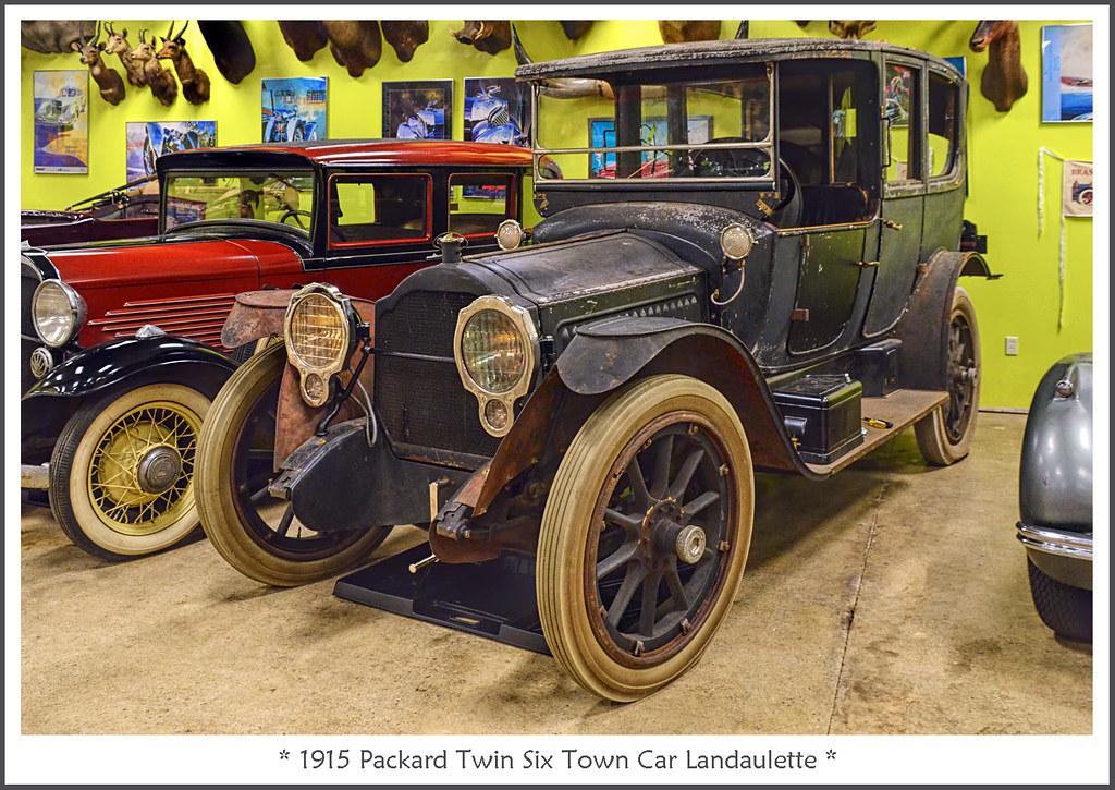 1915 Packard Twin Six Town Car Landaulette February 21
