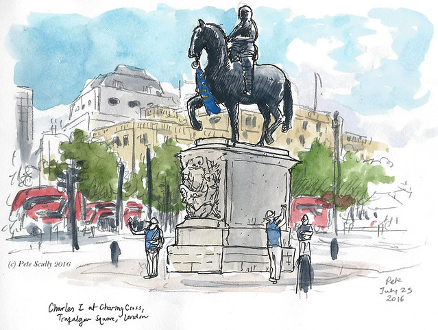 Charles I statue, Charing Cross