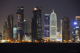 Skyline - Doha, Qatar | by -AX-