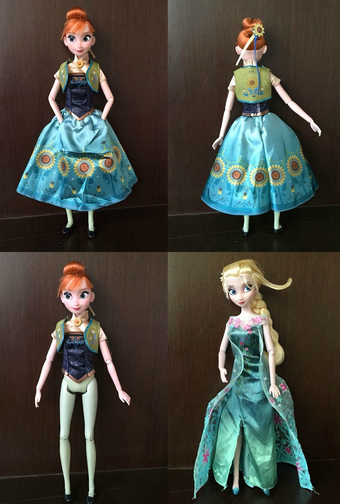 Upcoming Frozen Fever Dolls Not My Pictures Source Flickr