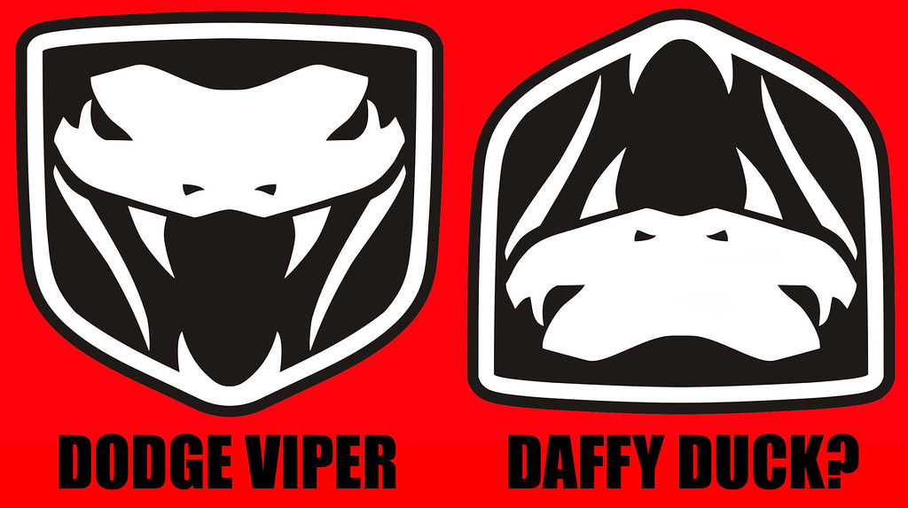 Dodge Viper Logo Flipped Who Woulda Thought Insomnia Cured