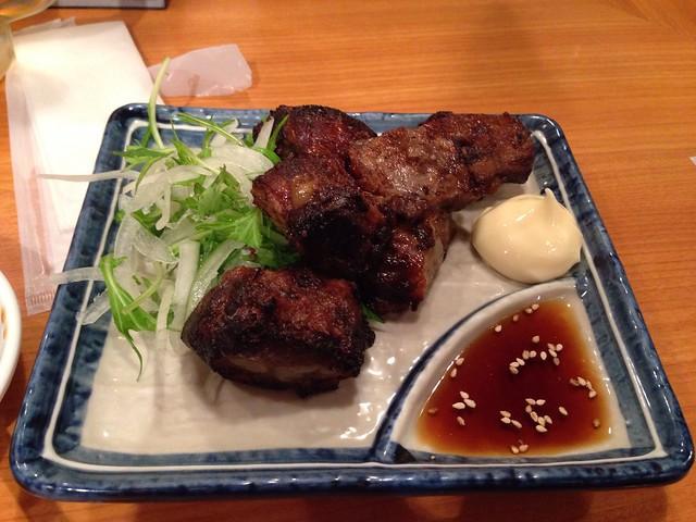 食事@かごしま屋台村