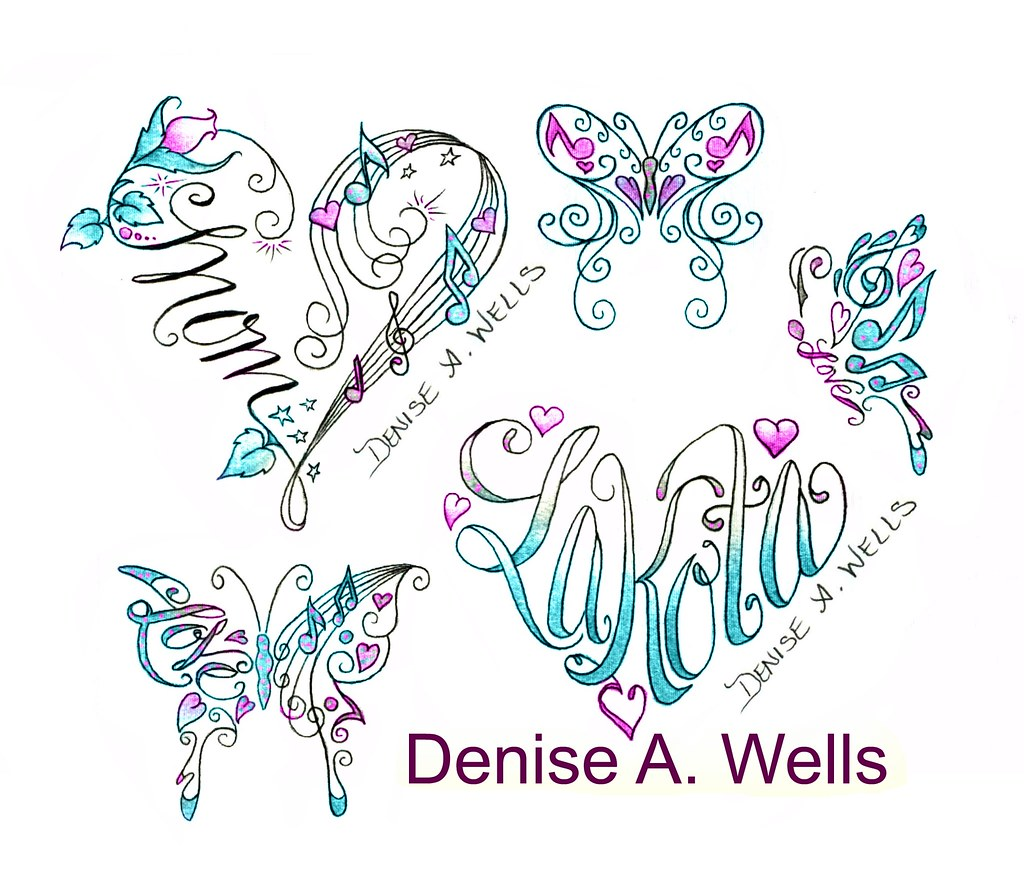 small wrist tattoos denise a wells mom heart tattoo with flickr. Black Bedroom Furniture Sets. Home Design Ideas