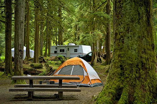 Provincial Park Campground on Vancouver Island, British Columbia, Canada. | by BCVacation
