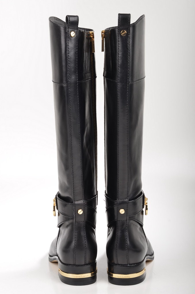michael kors aileen riding boot stiefel 40f4aimb7l kalbsle flickr. Black Bedroom Furniture Sets. Home Design Ideas