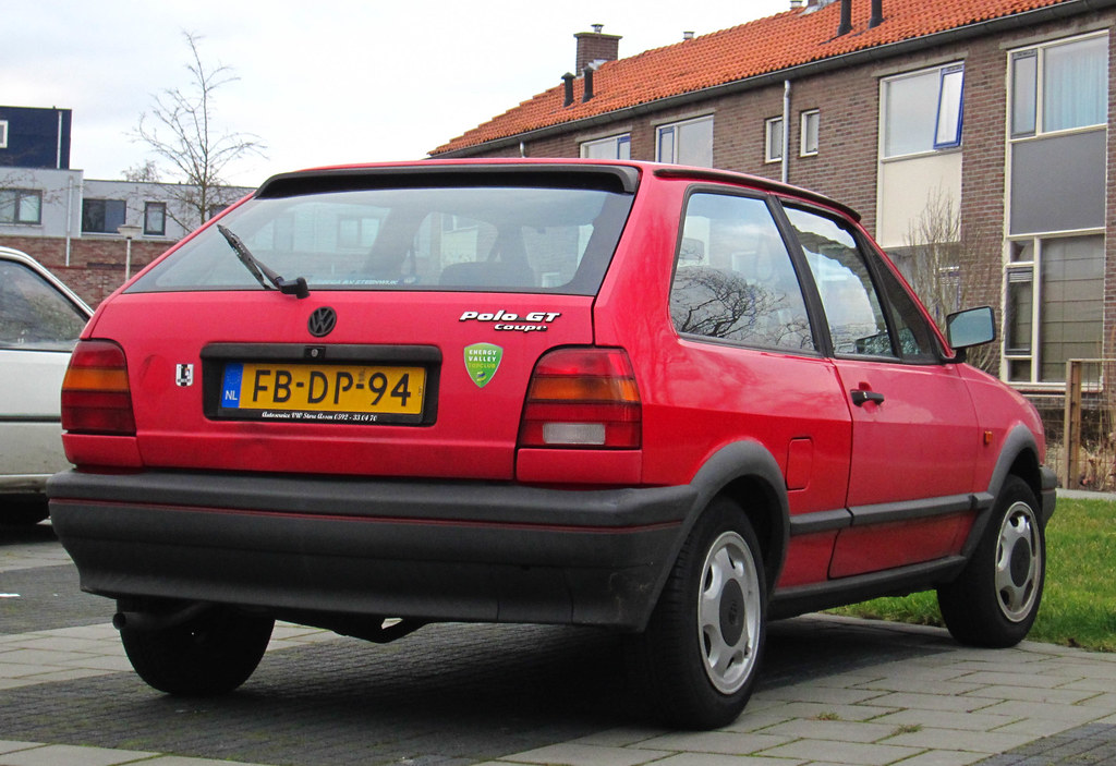 1992 Volkswagen Polo Coup 233 1 3 Gt Place Assen Rutger