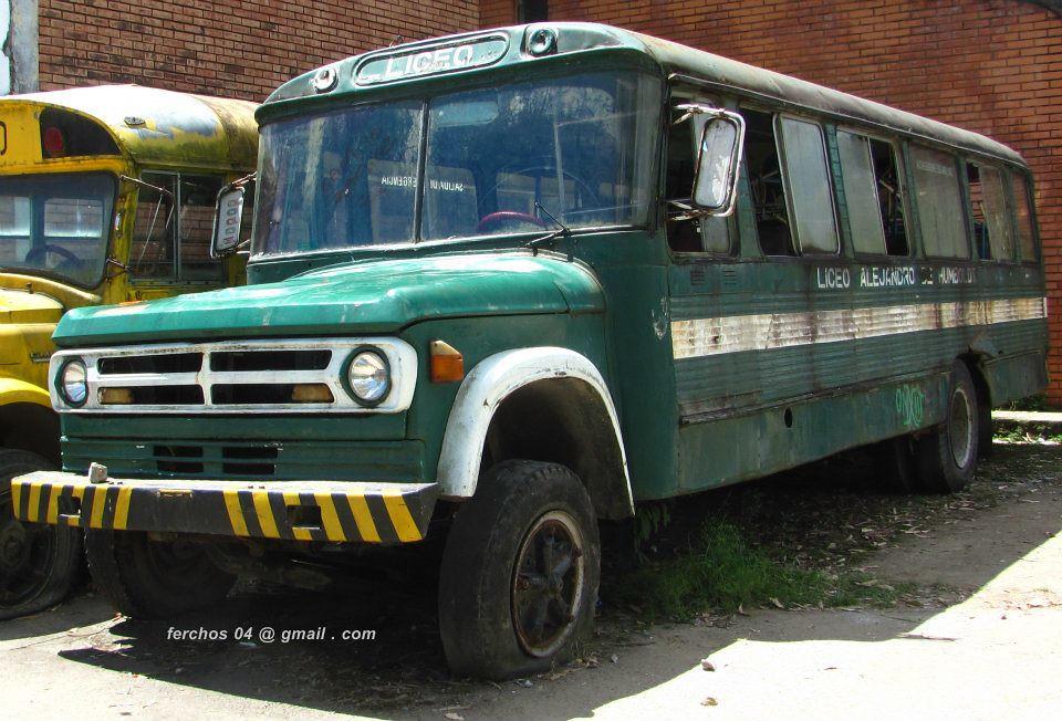 Bus Escolar Dodge 600 Modelo 1970 Nelson Fernando Sotelo