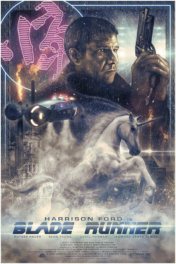 Blade Runner Memories by Casey Callender