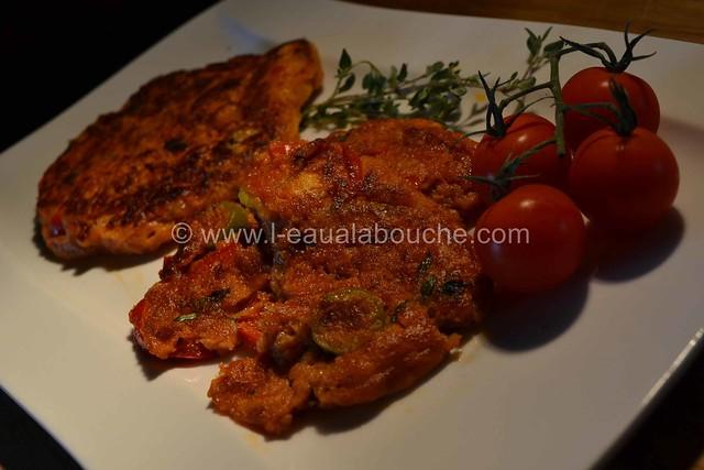 Pancakes Salés Au Thon & Poivrons Rouges © Ana Luthi 021