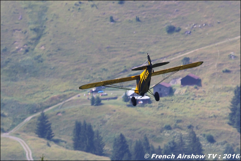 F-WCCE - CubCrafters Carbon Cub EX , HORUS AERO , Piper Club France , Meribel Air Show , 2016 , meribel airshow , les 3 vallees , Méribel LFKX/MFX