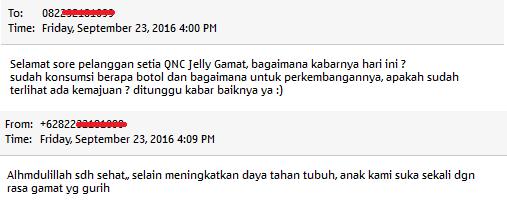 QnC Jelly Gamat di Apotik Bogor Bogor Jawa Barat