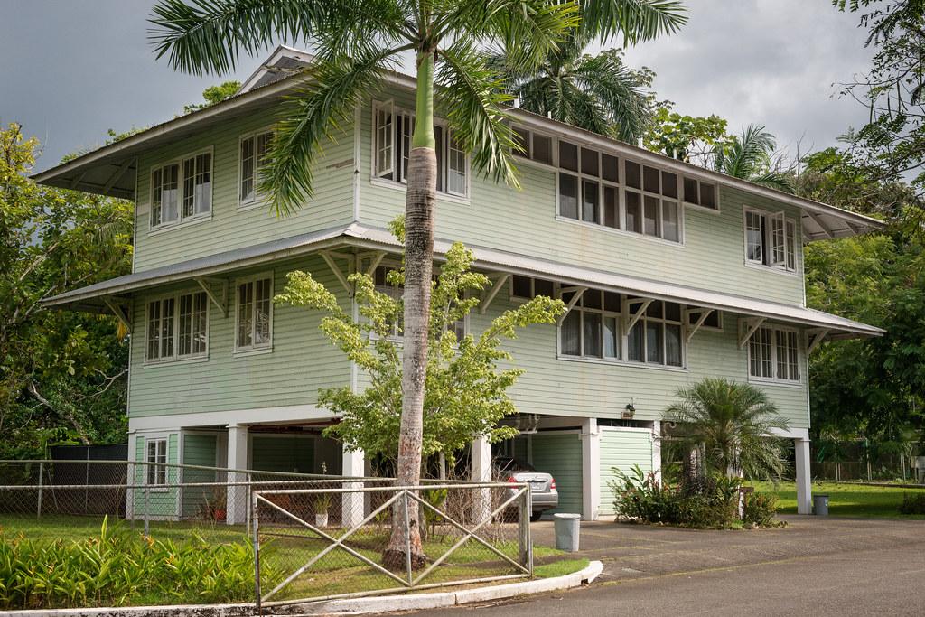 Canal Zone Employee Housing 01 Gamboa Republic Of Panama
