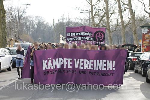 Frauen*kampftag in Leipzig