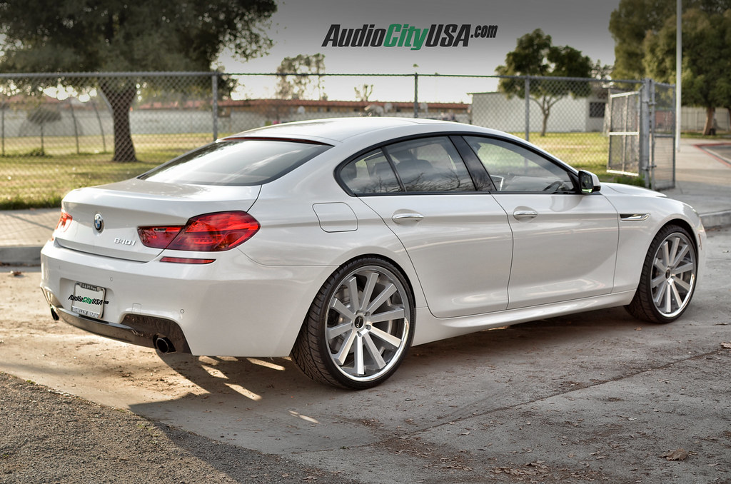 2015 Bmw 640 I M Pkg On 22 Quot Gianelle Santo 2s Silver Fa Flickr