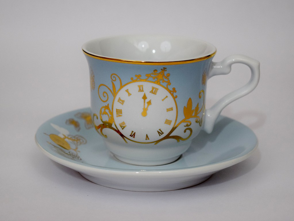 Cinderella Limited Edition Fine China Tea Set Live Actio