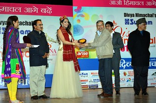 'Guest of Honour Award ' from  Divya Himachal | by P r Bali