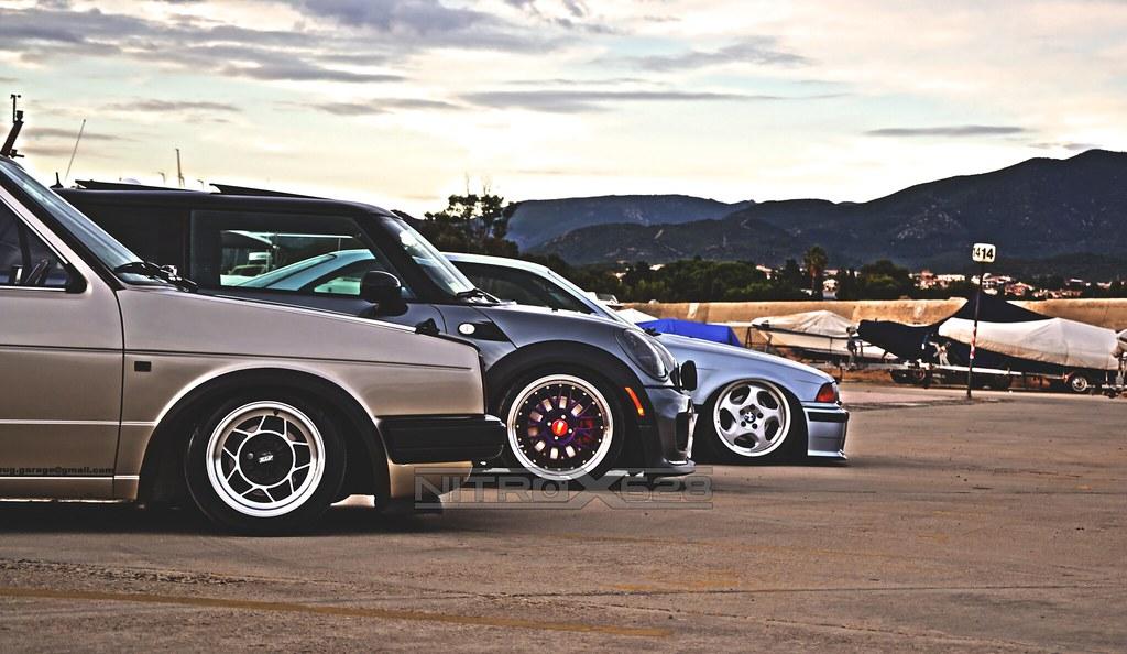 VW Golf GTI MK2 - Mini Cooper JCW - BMW e36 | Marco Nitros | Flickr