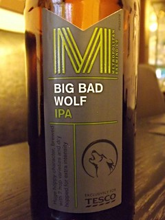 Metropolitan Brewing Co (Greene King for Tesco.). Big Bad Wolf IPA. England