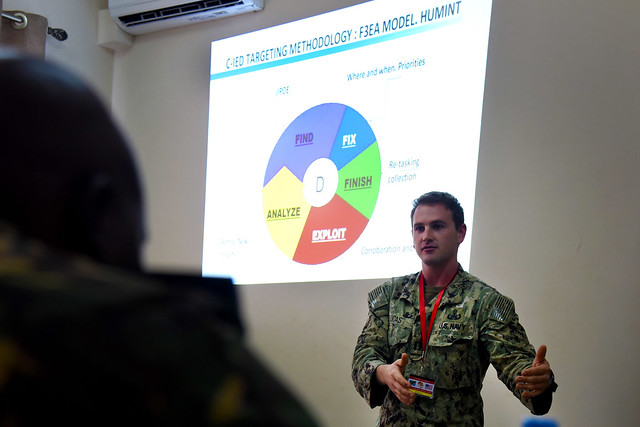 EA 2016 Counter-IED training