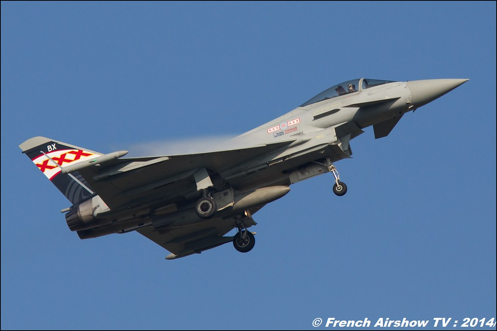 Typhoon Display Team Royal Air Force AIR14 Payerne 2014 Canon Sigma France contemporary lens