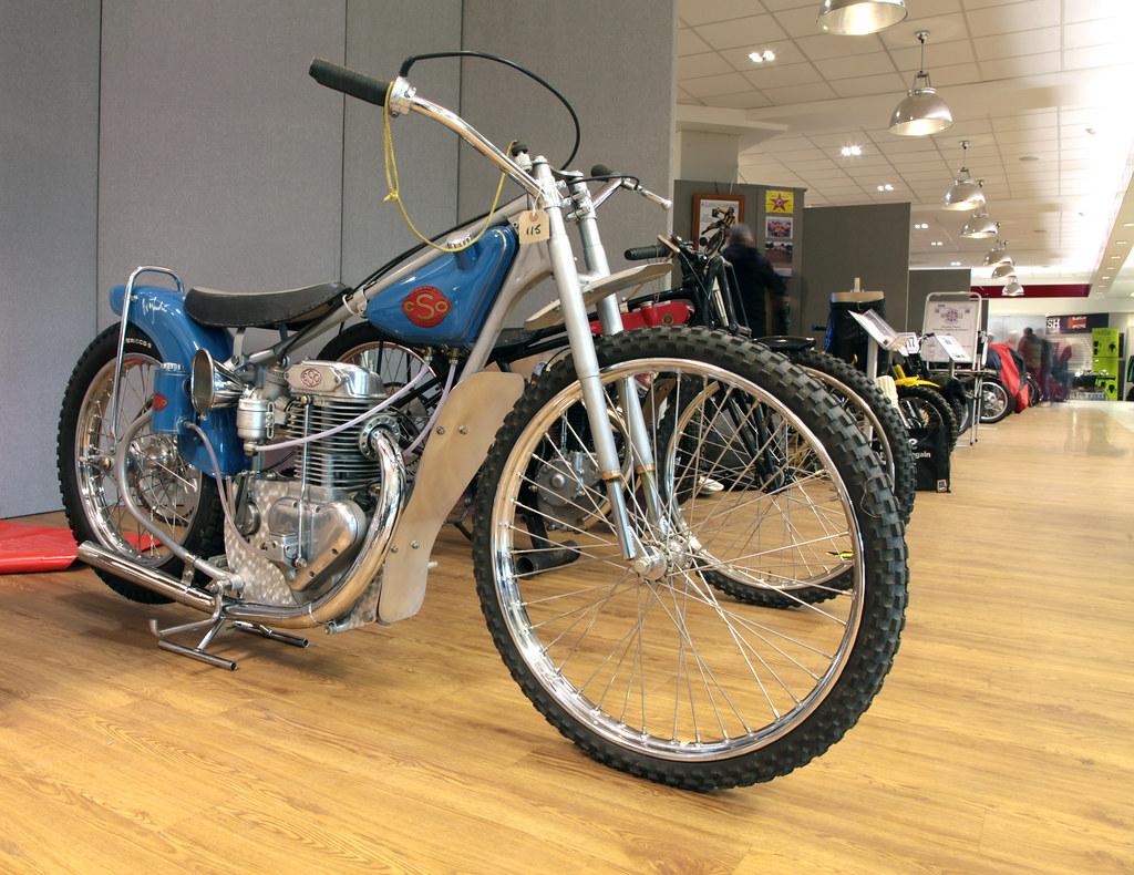 Speedway Motorcycle Racing Bikes: ESO Speedway Bike. Copy Of Ove Fundin's1967 World Speedway