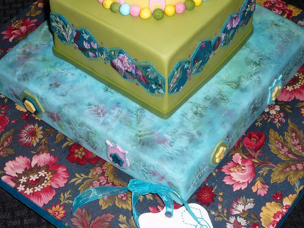 LLC Floral Batik Birthday Cake Doctor