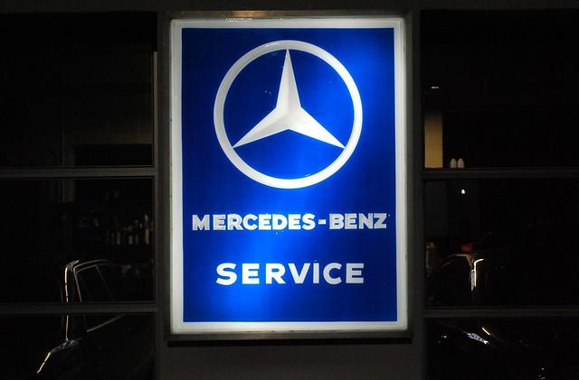 Mercedes benz service sign newburgh ny flickr photo for Mercedes benz service f
