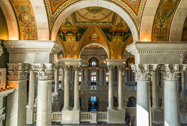 Foyer Architecture Library : The library of congress foyer explored flickr photo