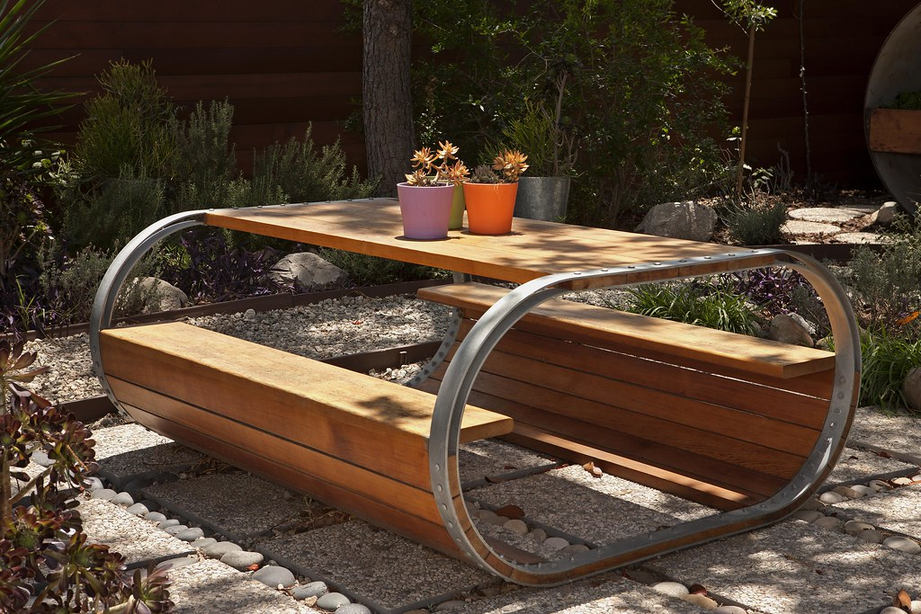 ... A Picnic Table Inspired By A Wine Barrel | By Jeremy Levine Design