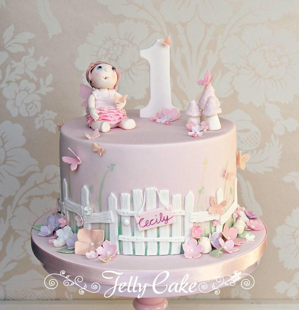 Flower garden birthday cake a pretty floral garden cake fo flickr flower garden birthday cake by jellycake izmirmasajfo