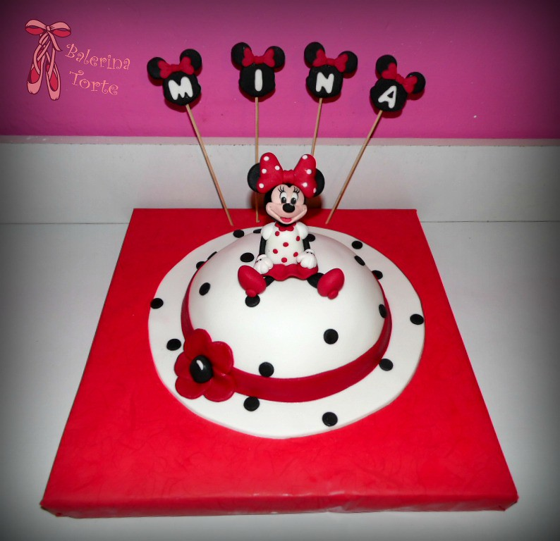 Minnie Mouse Cake Mini Maus Torta By Balerina Jagodina