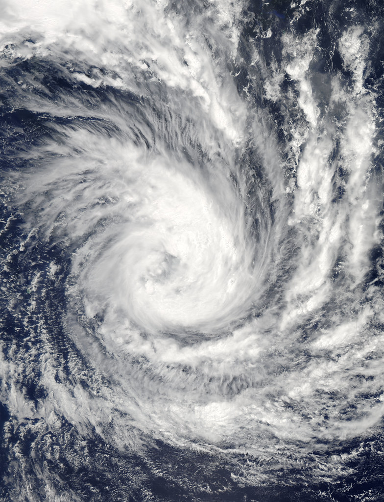 Tropical Cyclone Glenda In The Indian Ocean