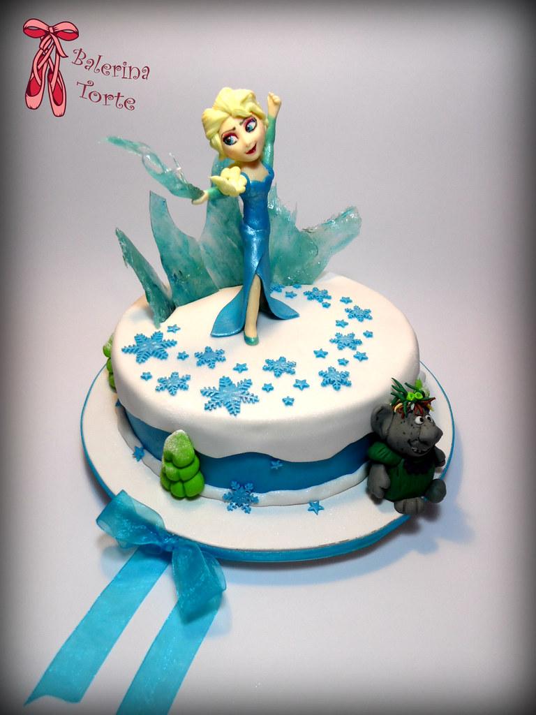 Frozen Cake - Elsa Cake - Zaledjeno kraljevstvo torta - El… | Flickr