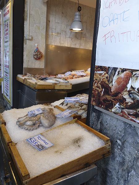 poissonnerie à Gênes