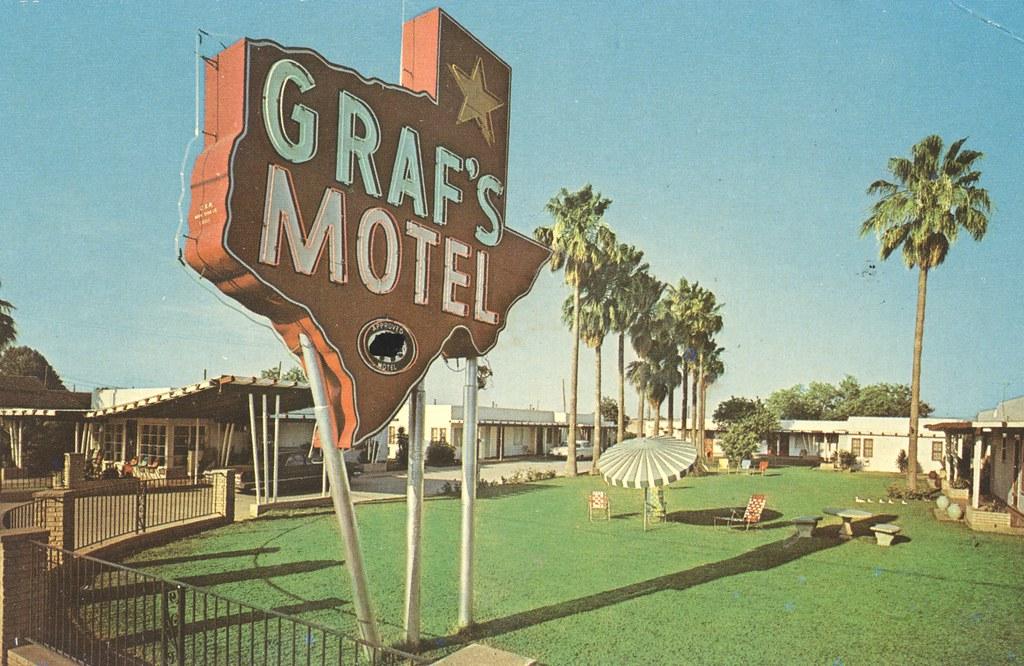 Graf's Motel - Laredo, Texas