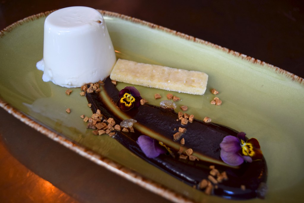 Panna Cotta with Stem Ginger at Cucina Asellina, Covent Ga… | Flickr