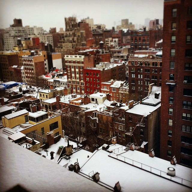 Snowy Greenwich Village #nyc #made_in_ny #picoftheday #pho ...