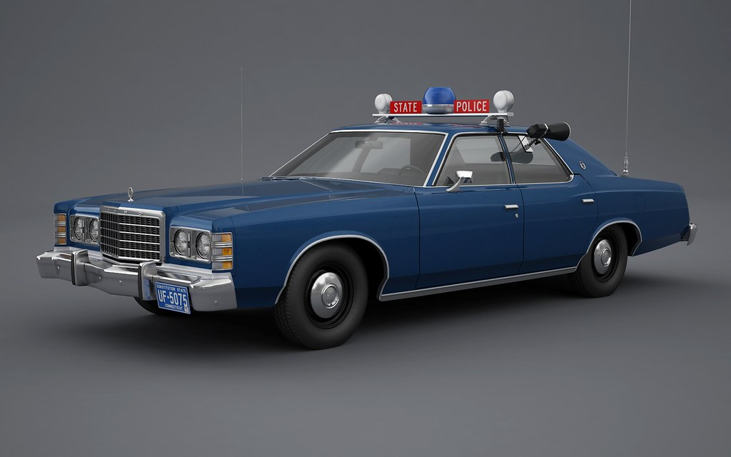 Image result for 1979 ford LTD connecticut State Police cruiser