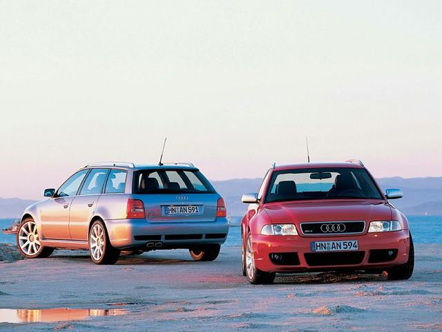 Спортивный универсал Audi RS4 B5 Avant. 2000 - 2001 годы