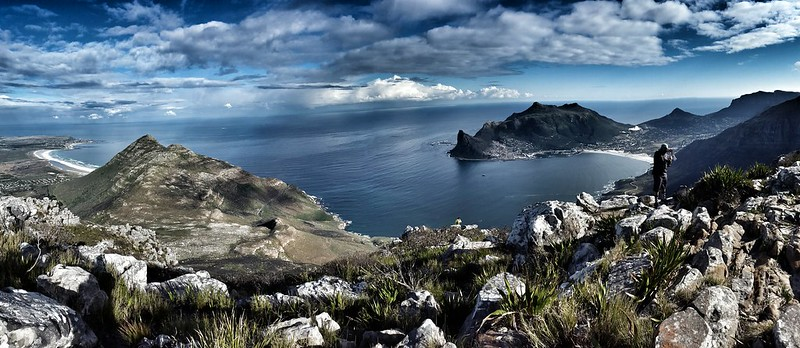 Chapman's Peak and Hout Bay from Noordhoek Peak