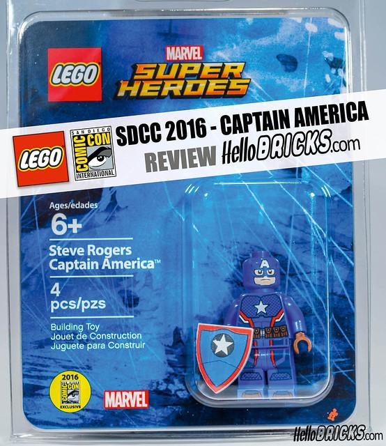 SDCC 2016 Lego Minifigure Review
