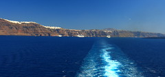 good bye santorini