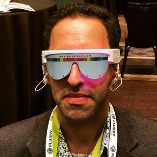 Getting amped up for my #ces2015 #appnation session with the Psio #smgvelocity | by David Berkowitz