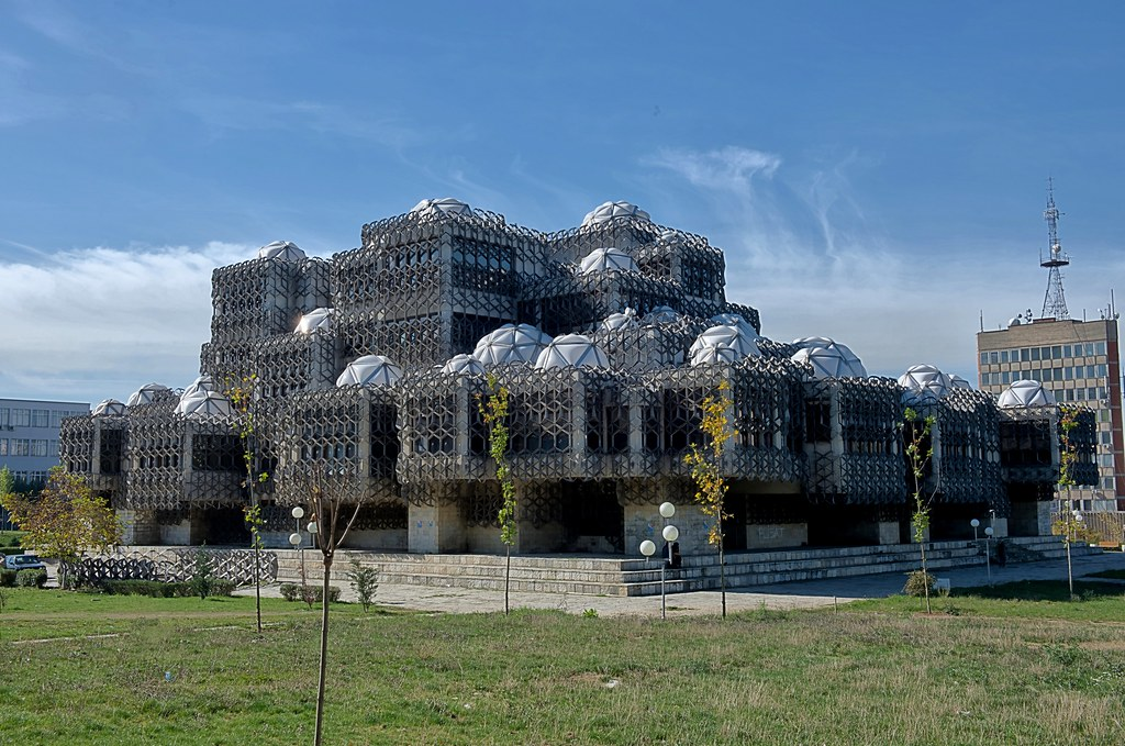 National Library of kosovo, Pristina