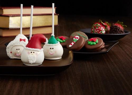 Christmas Oreo Cake Pops