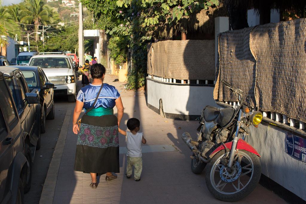 kävelyllä, Sayulita, Meksiko